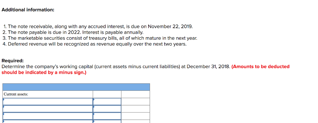 4bde4fa5 Presented below is the ending balances of accounts for the Kansas Instruments  Corporation at December 31, 2018 Account Title Cash Accounts receivable Raw  ...