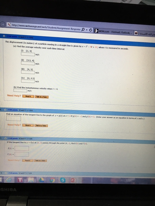 Solved: Http://www T/Assignment Responsi ρ·d