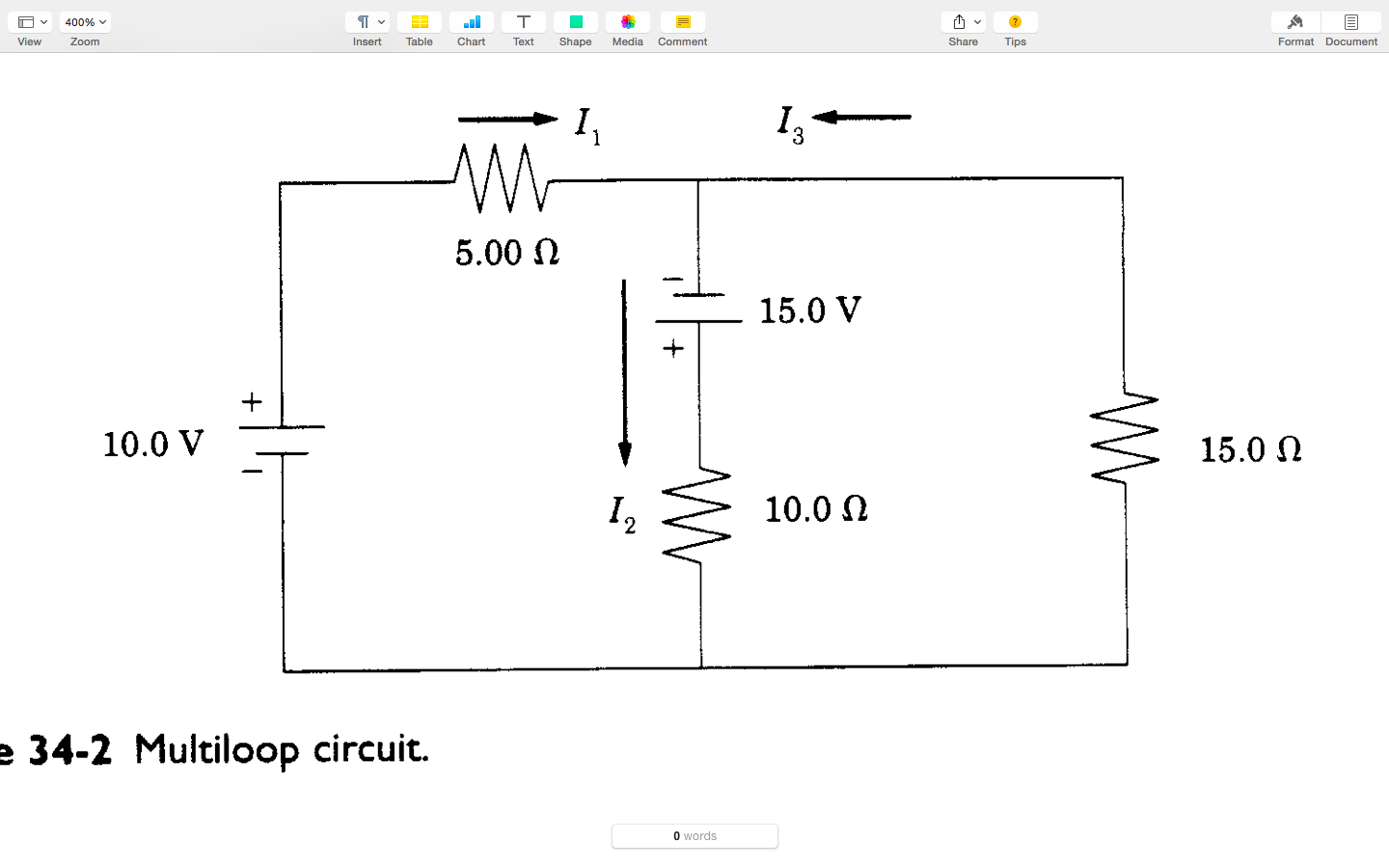Question: Apply Kirchhoff's rules to the circuit and write three equations  in terms of known circuit elemen.