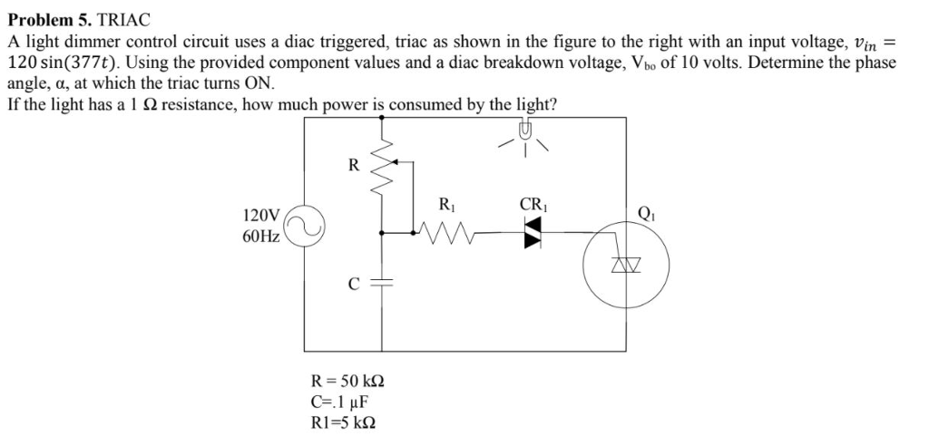 Contemporary Phase Control Triac Circuit Gift - Wiring Diagram Ideas ...