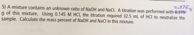 how to make naoh from nacl