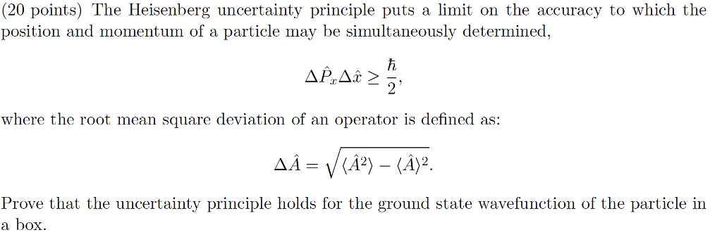 heisenberg principle definition