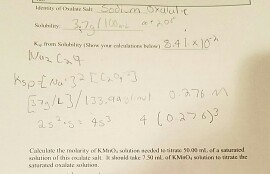 Solved: Calculate The Molarity Of Kmno4 Solution Needed To