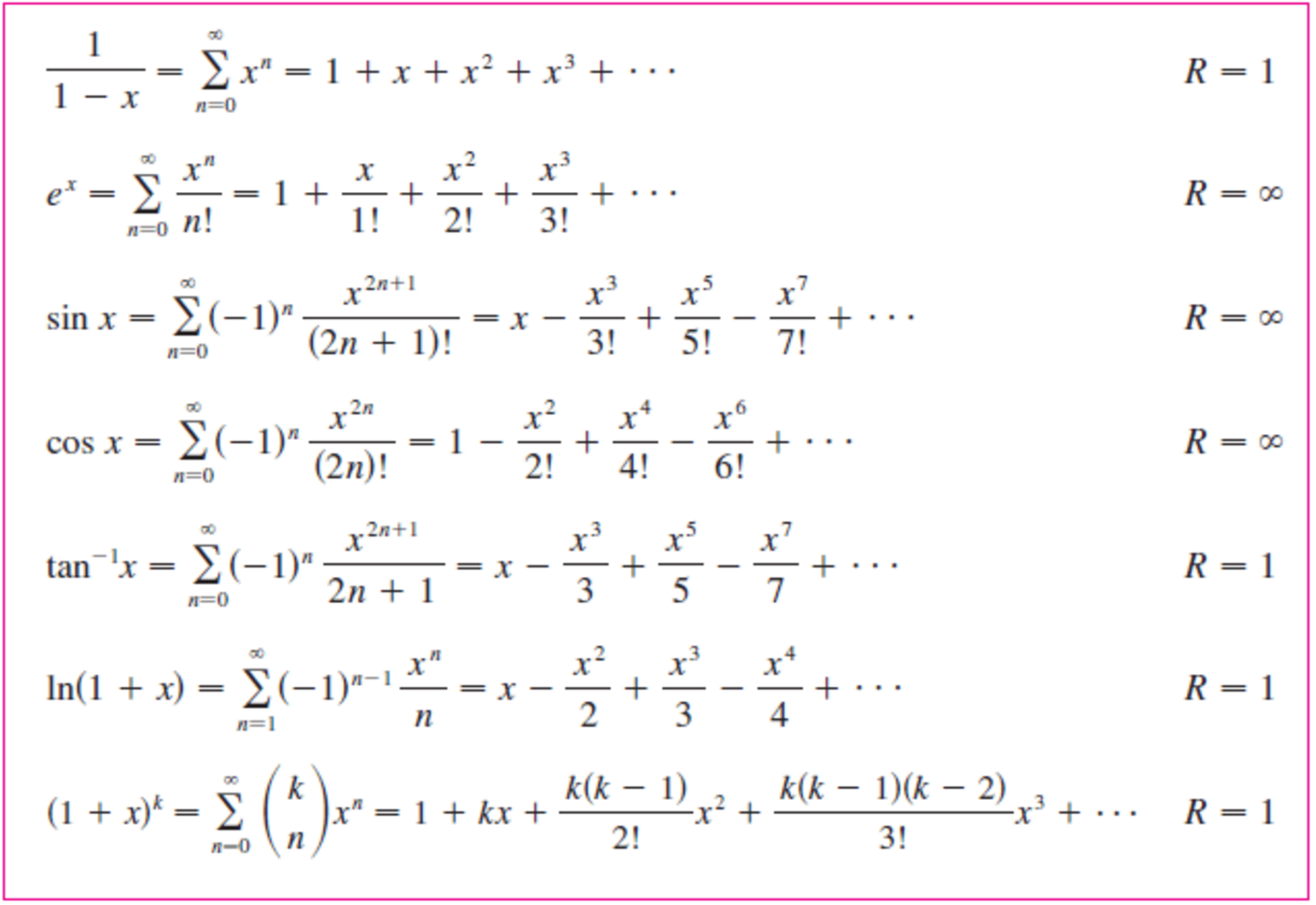 solved use a maclaurin series in this table to obtain the mathematica table x y