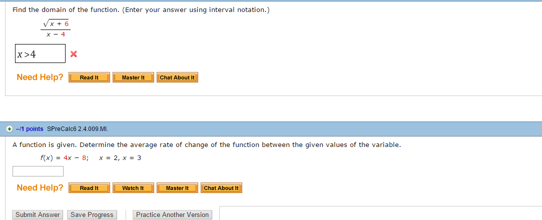 F X H F X H Calculus: Solved: Find The Domain Of The Function. (Enter Your Answe