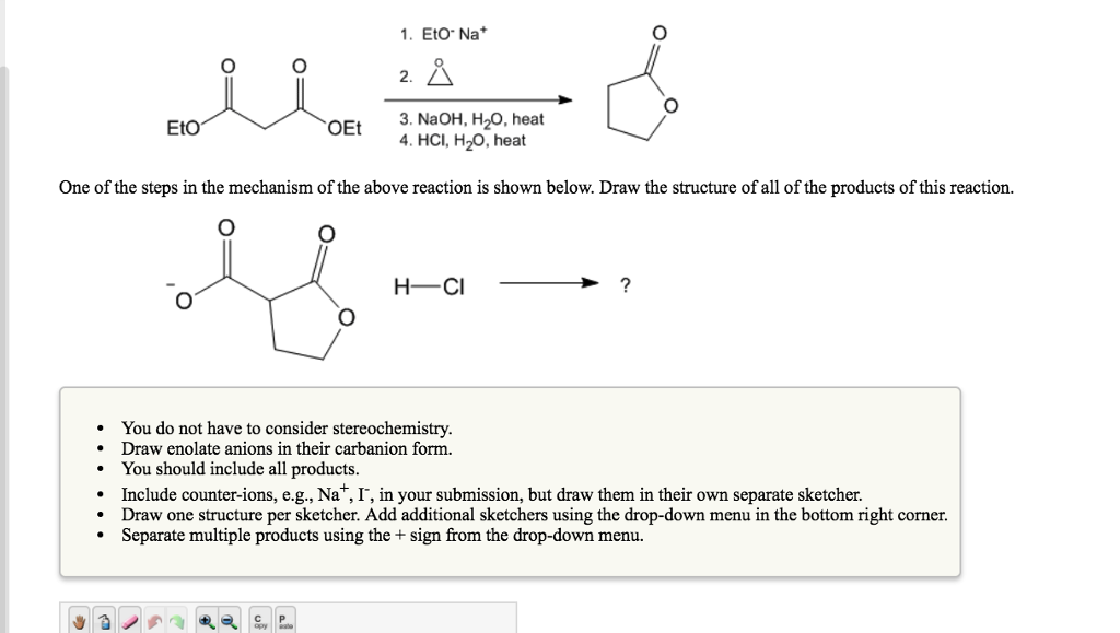 solved select a starting material and a series of reagent rh chegg com