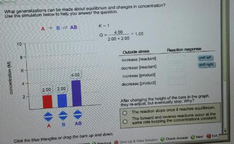 how to find equilibrium concentration given kc