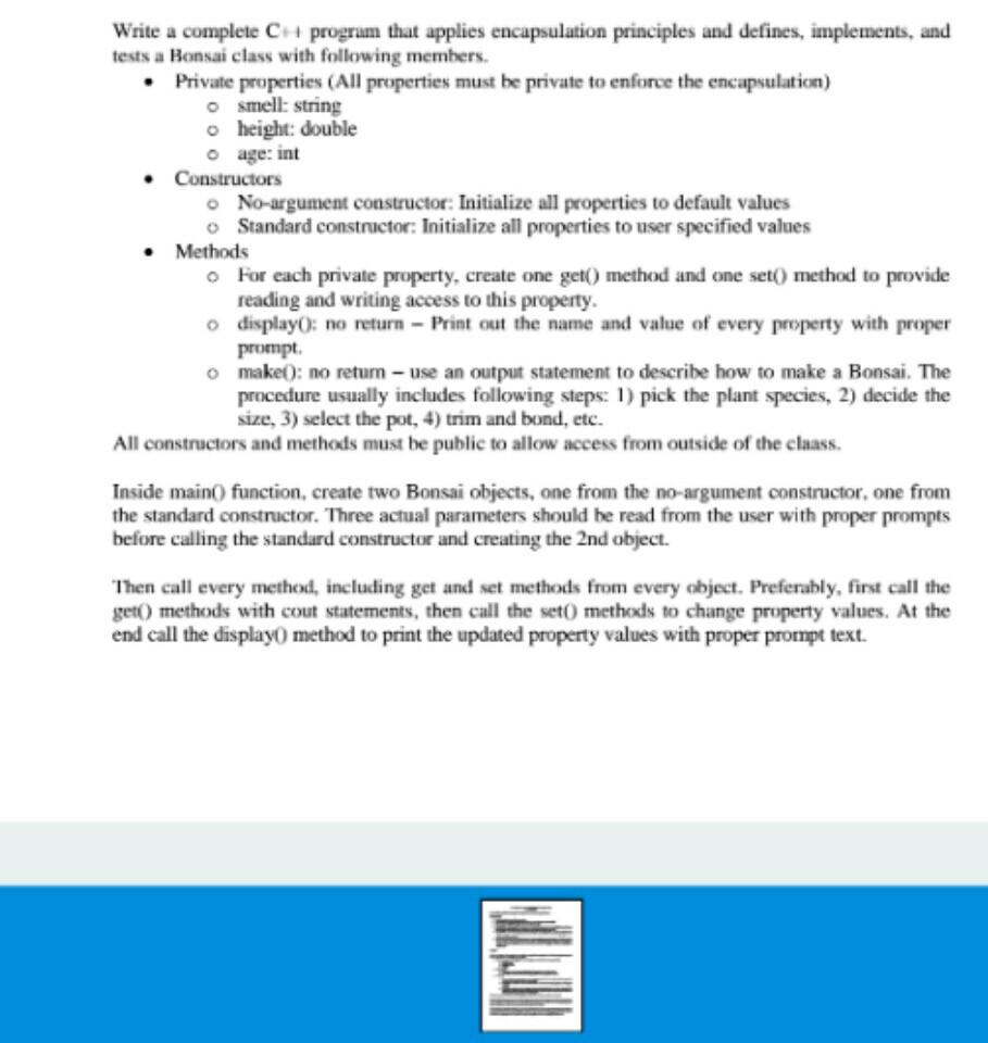 Standard program set and operating principle