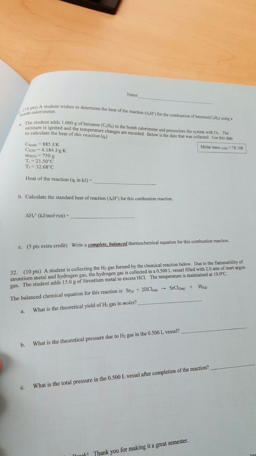 Chemistry archive december 17 2015 chegg write a balanced molecular equation for the following reactions and identify the reaction tye a kohaq reaction type hbraq mgs reaction type net biocorpaavc