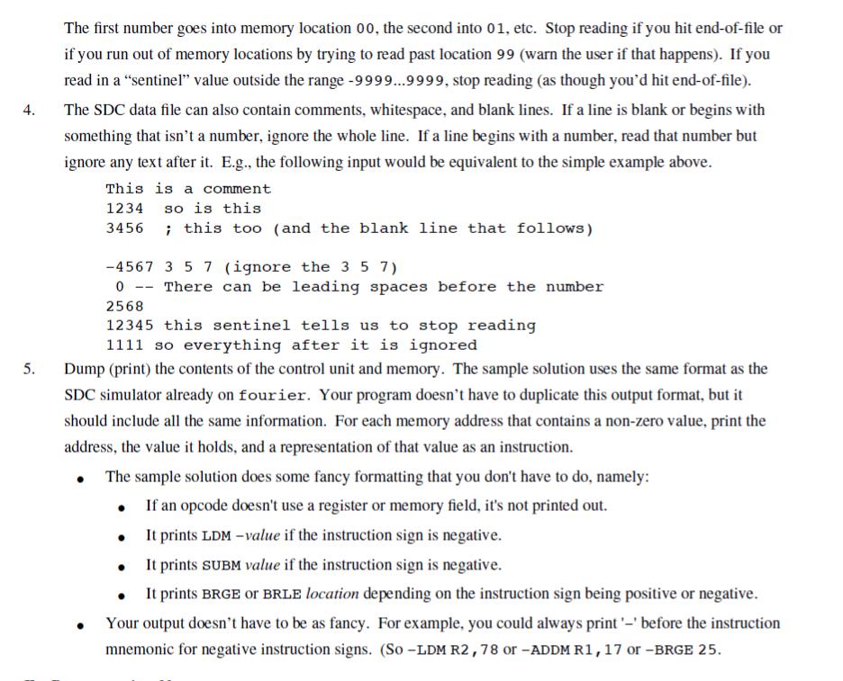 general opcode structure