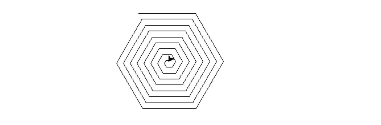 Solved: Python: Modify This Program Of Spiral Square So Th