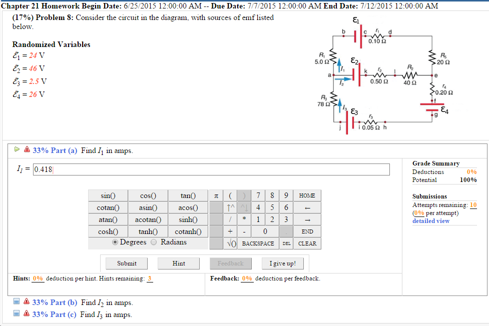 Solved 17 Problem 8 Consider The Circuit In The Diagr