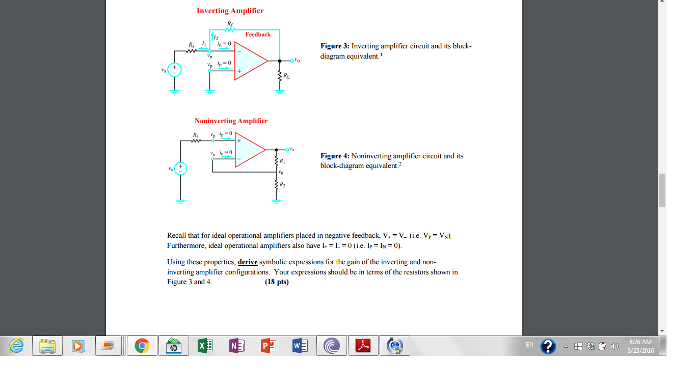Inventing amplifier circuit and its block diagram
