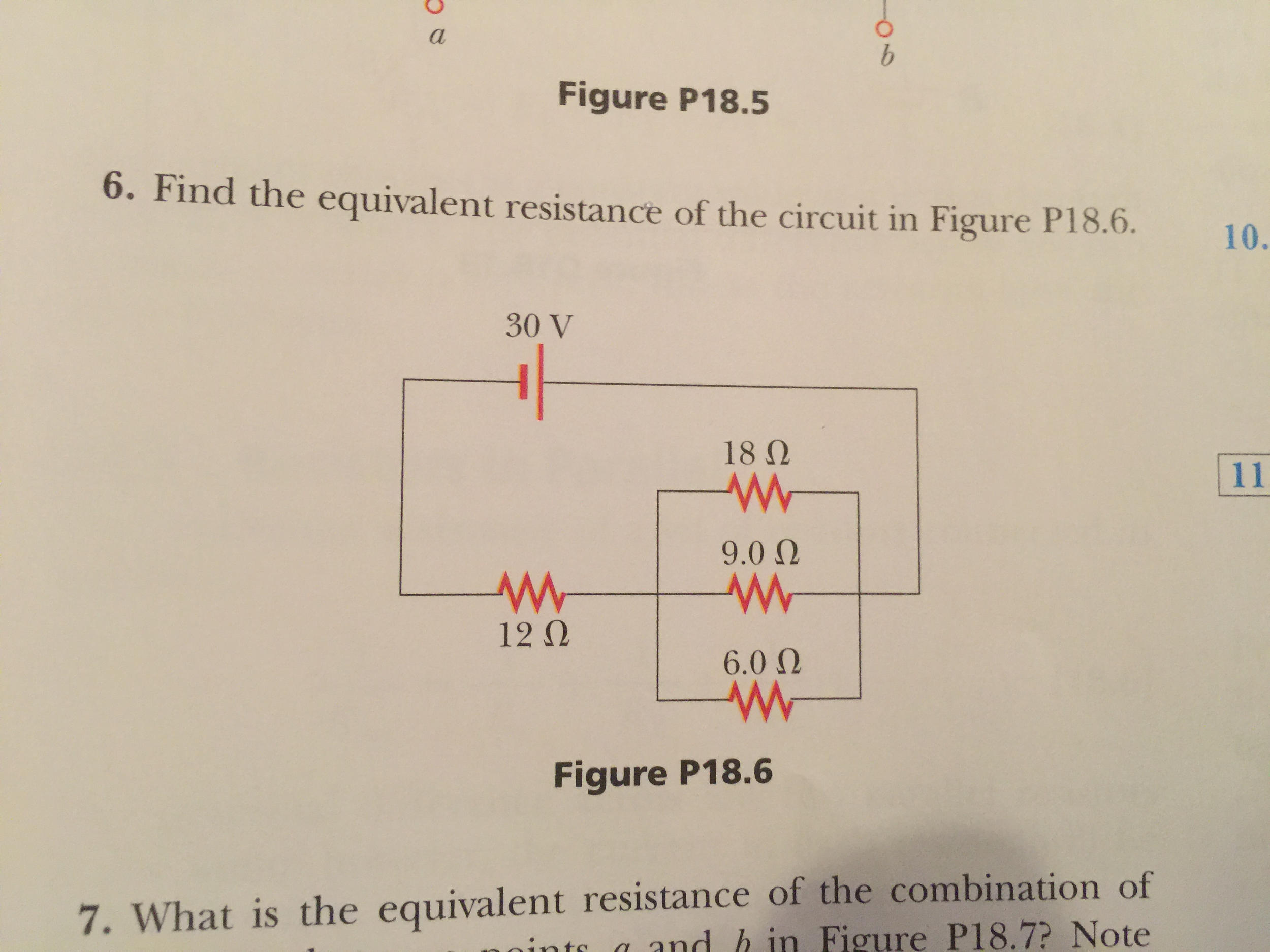 Solved: 15) Find The Equivalent Resistance For The Circuit ... on