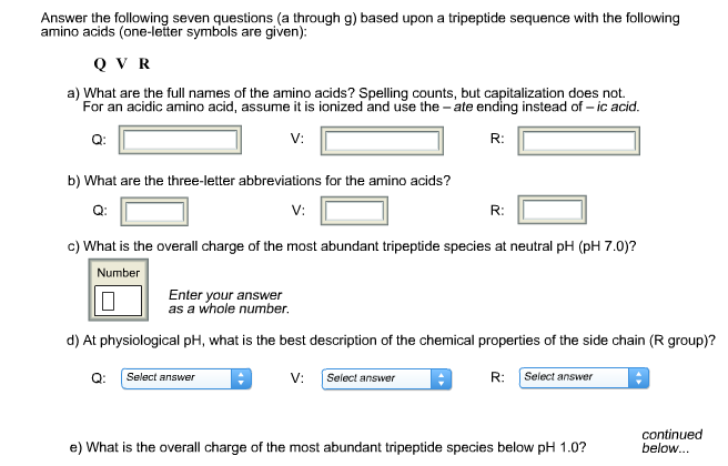 Solved: Answer The Following Seven Questions (a Through G