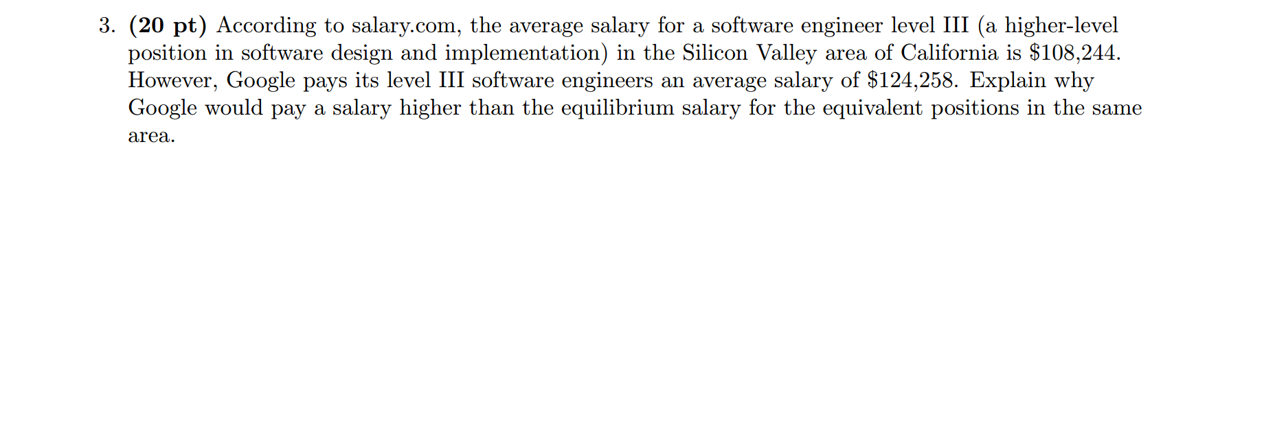 Solved: According To Salary com, The Average Salary For A