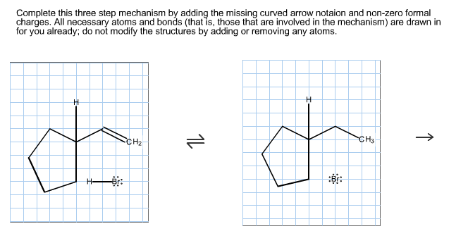 Solved complete this three step mechanism by adding the m complete this three step mechanism by adding the m ccuart Image collections