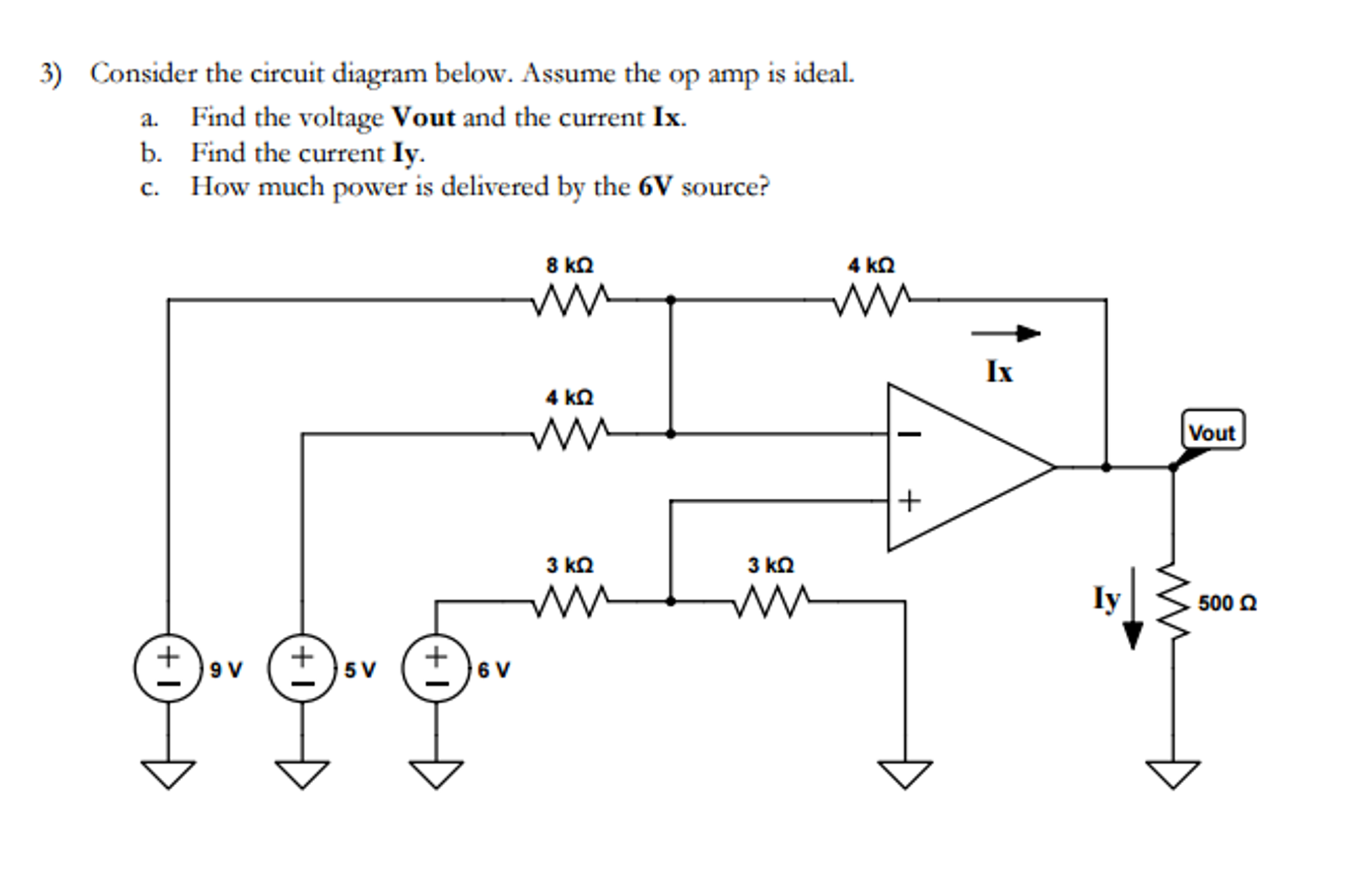 Solved: Consider The Circuit Diagram Below. Assume The Op ...