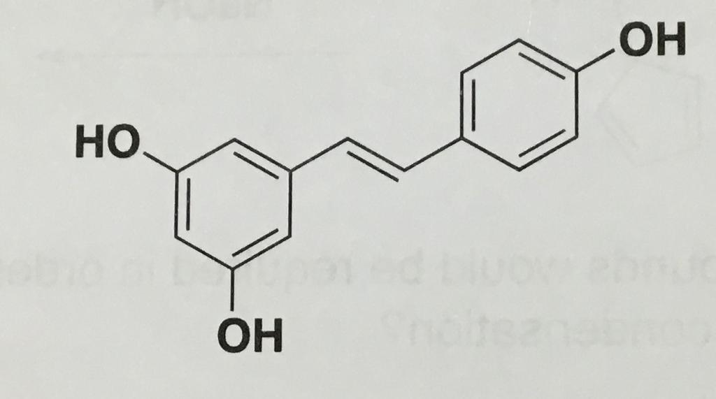 Solved The Compound 3 5 4 Trihydroxy Trans Stilbene Aka