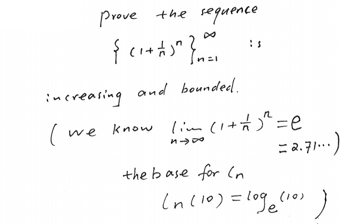 Solved: Prove The Sequence Inc...