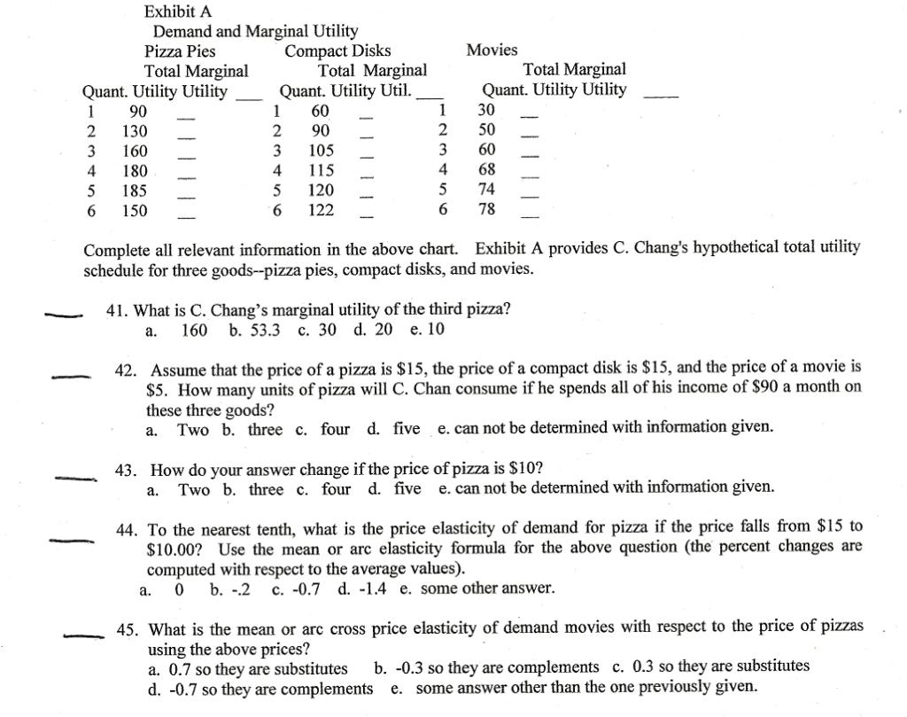 marginal utility formula