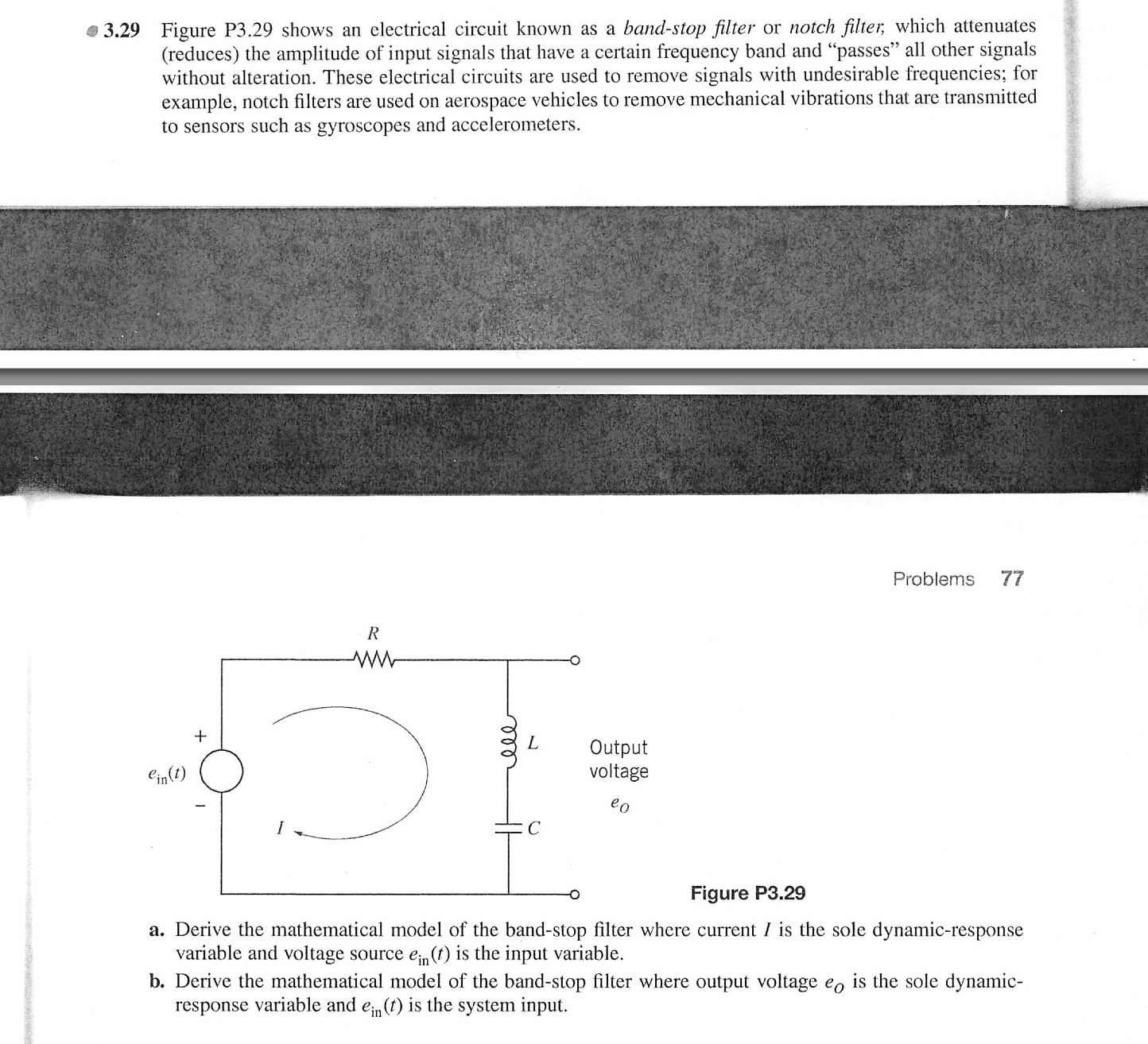 Solved: Figure P3.29 Shows An Electrical Circuit Known As ...