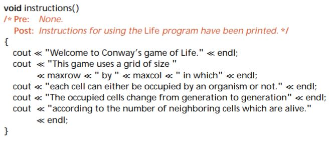 The Original Source Code Of The Game Of Life Progr Chegg