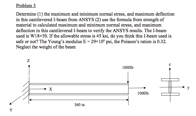 Solved: Solve This Problem Using Ansys 15 Or 17 2  Please