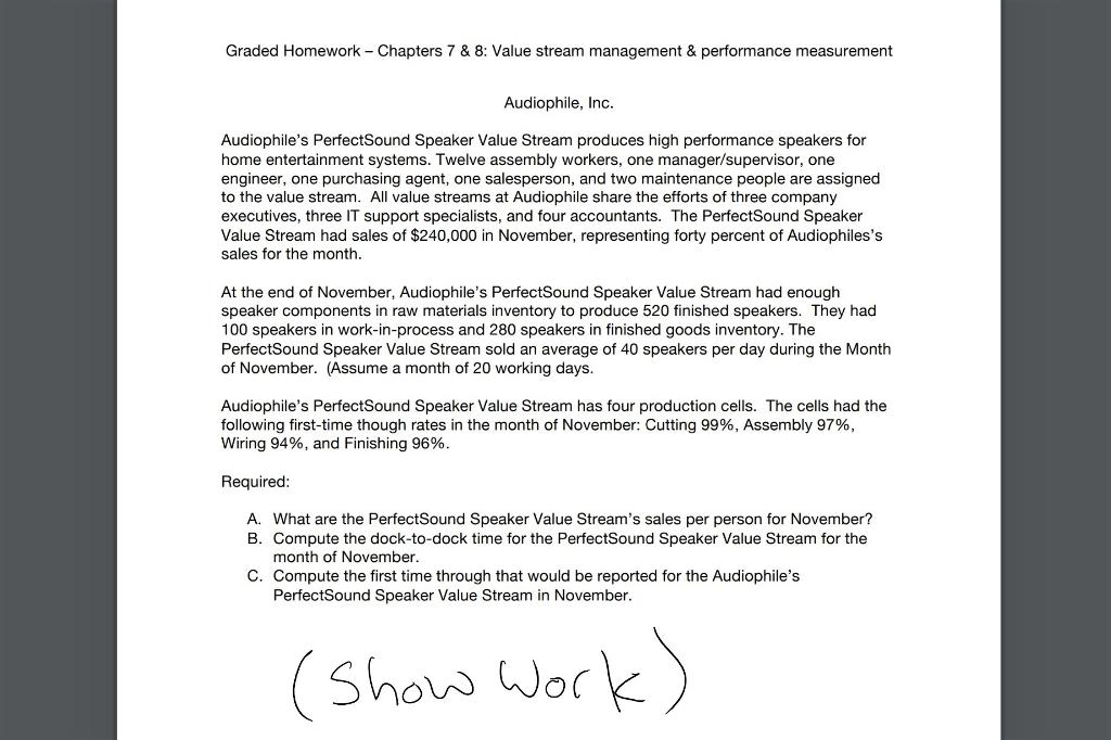 operations management homework chapter 3