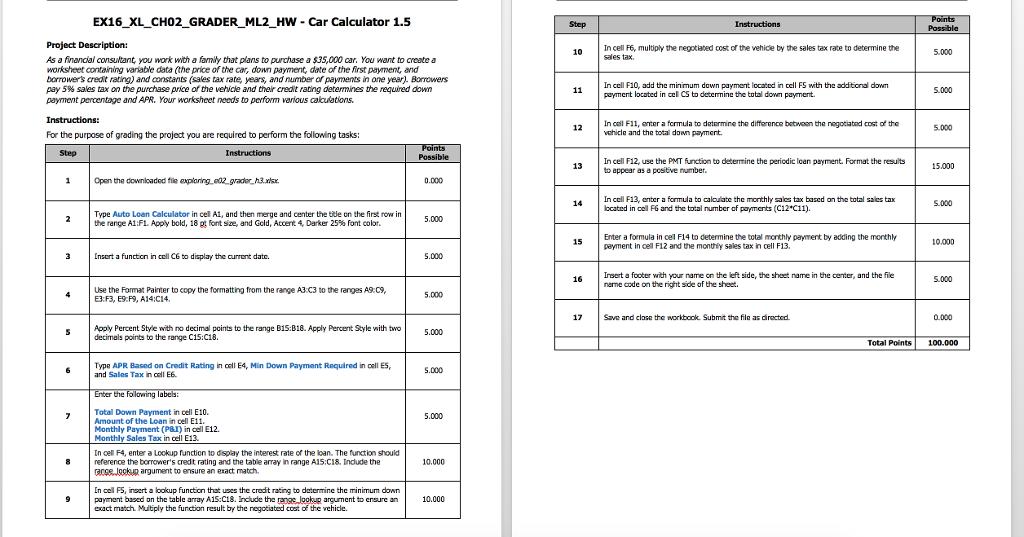 solved ex16 xl ch02 grader ml2 hw car calculator 1 5 pro