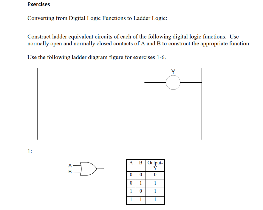 Solved exercises converting from digital logic functions exercises converting from digital logic functions ccuart Gallery