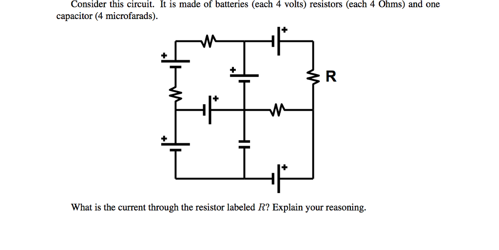 Solved Consider This Circuit It Is Made Of Batteries Ea