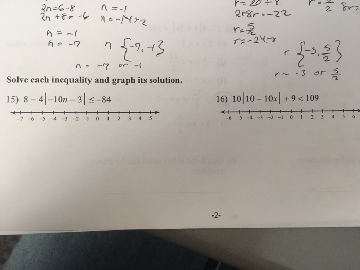 Solved: Solve Each Inequality And Graph Its Solution ...