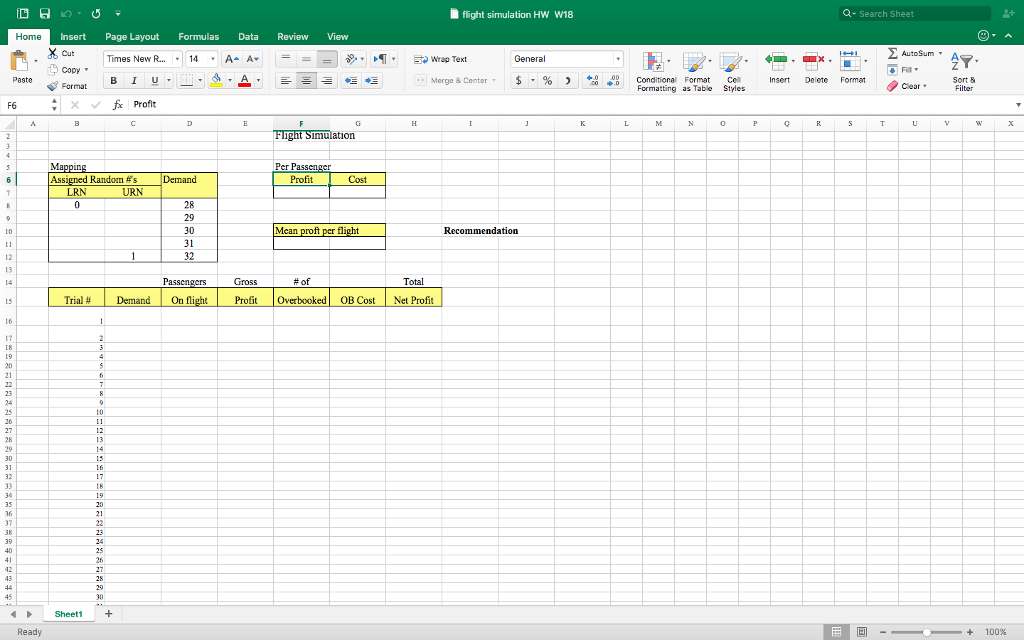 solved download the posted excel spreadsheet and include