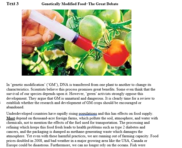 genetically modified foods what makes it Genetic modification has allowed us to make better crops and food, yet the majority of the public is skeptical of the safety and quality of genetically modified food.