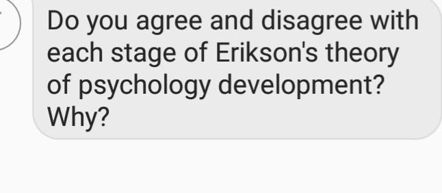 erikson physical development theory