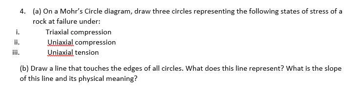 Solved on a mohrs circle diagram draw three circles rep a on a mohrs circle diagram draw three circles representing the ccuart Image collections