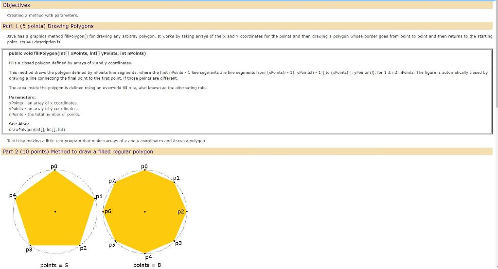 Draw a polygon: shape « 2d graphics gui « java.
