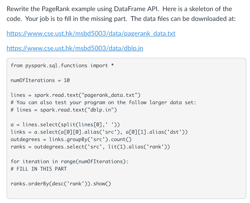 Pyspark: Suppose You Want To Do Df groupBy('A') su
