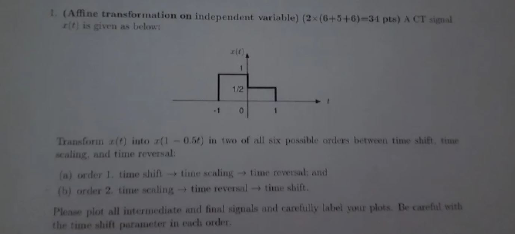 Solved: E Transformation On Independent Variable) (2x (6+5 ...