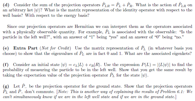 Solved In This Problem We Will Introduce And Explore Proj