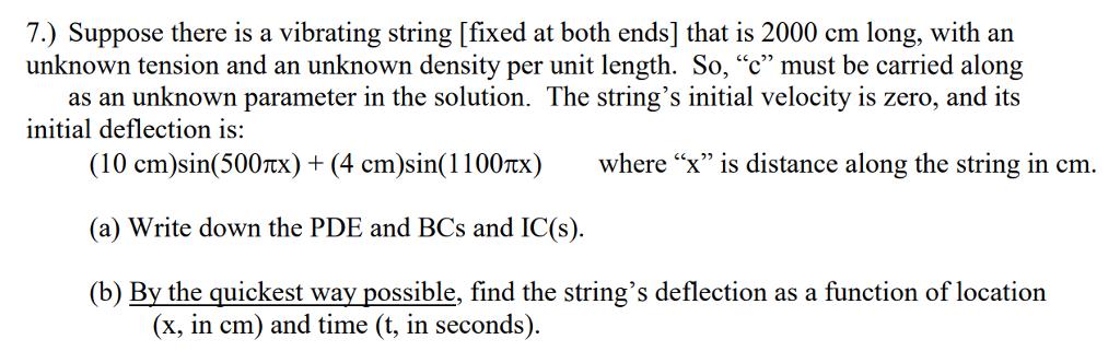 vibrating string and long string vibrates