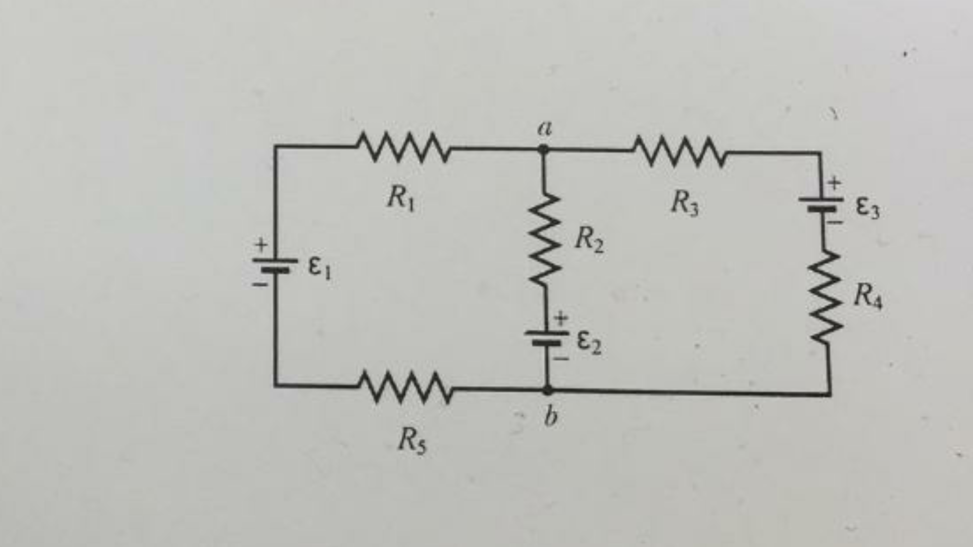 Solved: For The Circuit Given Below, Define The Direction ...