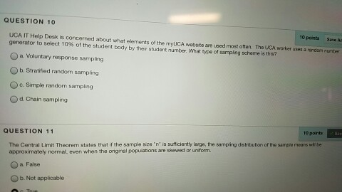 Solved: UCA IT Help Desk Is Concerned About What Elements