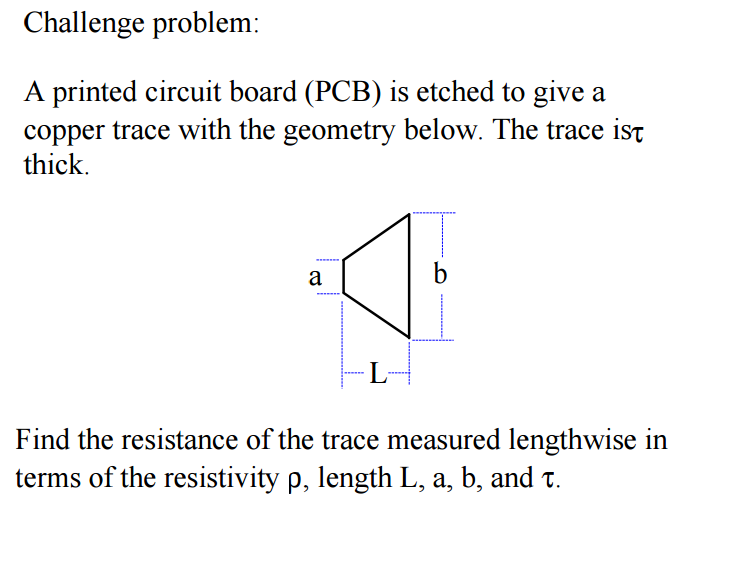 Solved: Challene Problem: A Printed Circuit Board (PCB) Is