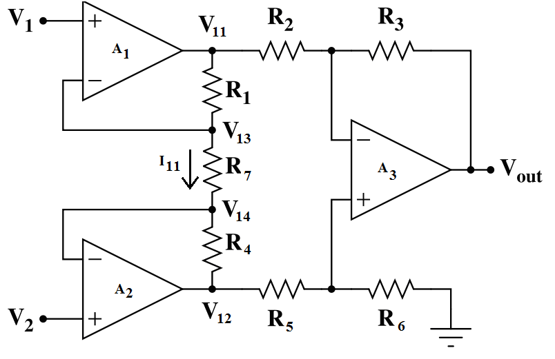 Outstanding Solved An Instrumentation Amplifier Circuit Is Shown In F Wiring 101 Capemaxxcnl