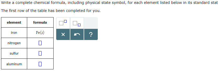 Solved Write A Complete Chemical Formula Including Physi