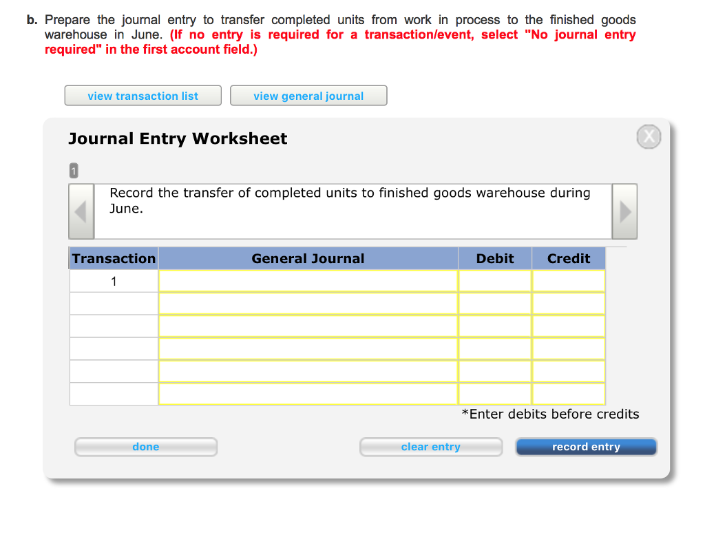 worksheet Journal Entry Worksheet shamrock industries uses process costing all of t chegg com using these to fill in journal