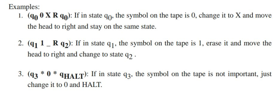 Examples 1 Mo 0 X R Qo If In State Go The Sy Chegg