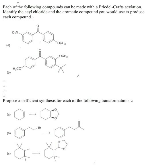 Solved: Each Of The Following Compounds Can Be Made With A
